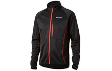 Cube Blackline softshell jas zwart